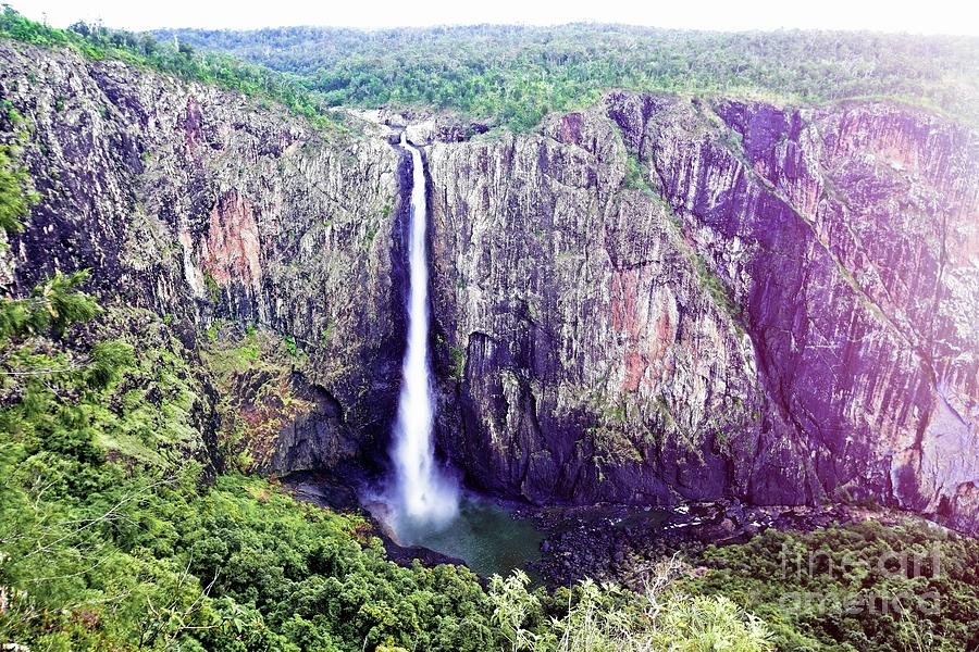 Falls Photograph - Wallaman Falls 2 by Graham Buffinton