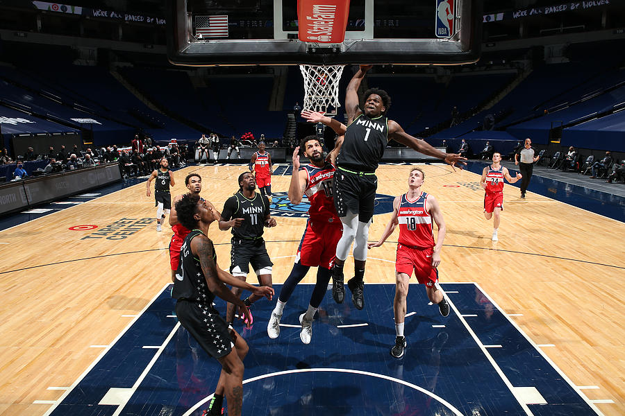 Washington Wizards v Minnesota Timberwolves Photograph by David Sherman