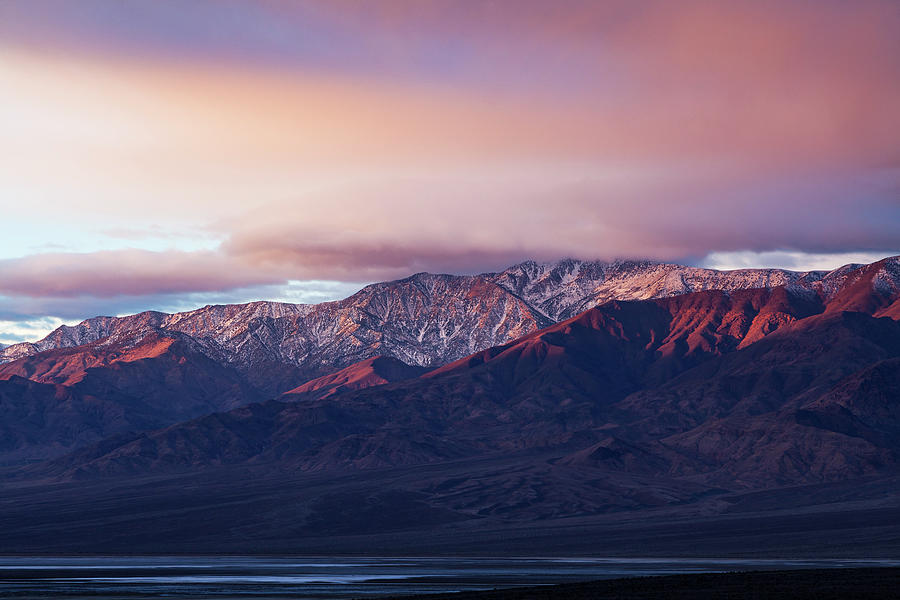 Death Valley National Park Photograph - Winter Sunrise by James Marvin Phelps