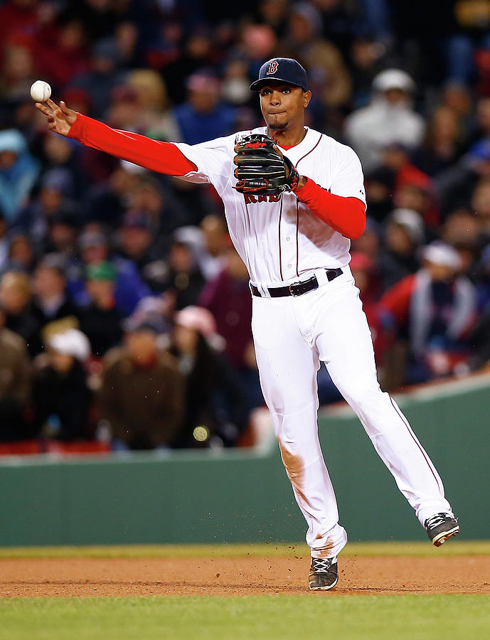 Xander Bogaerts Photograph by Jared Wickerham