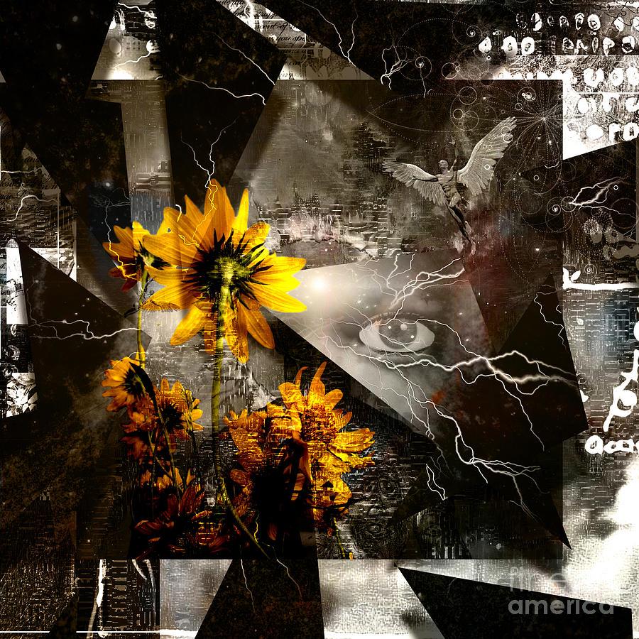 Yellow Flowers Digital Art