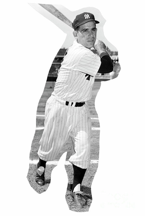 Yogi Berra Photograph by Kidwiler Collection