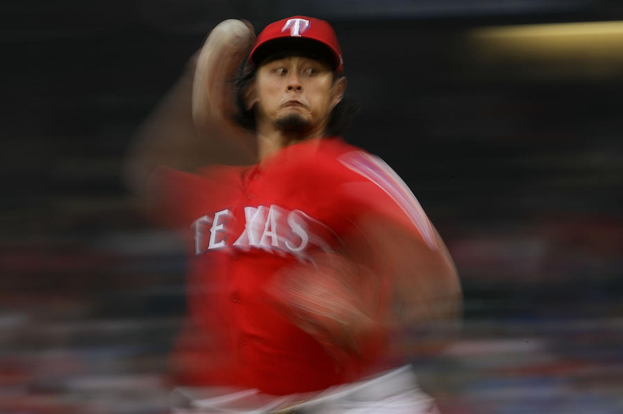 Yu Darvish Photograph by Ronald Martinez