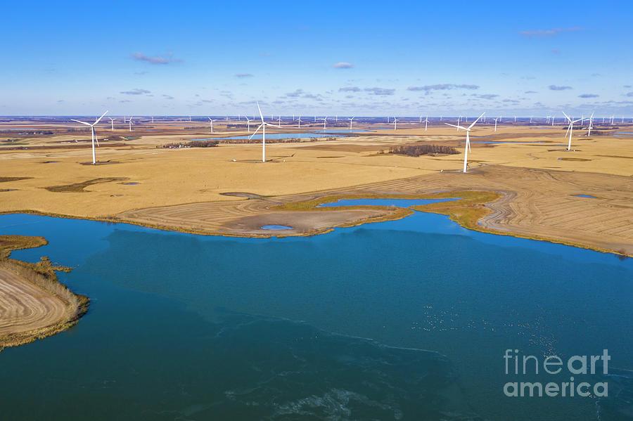 Wind Farm Photograph
