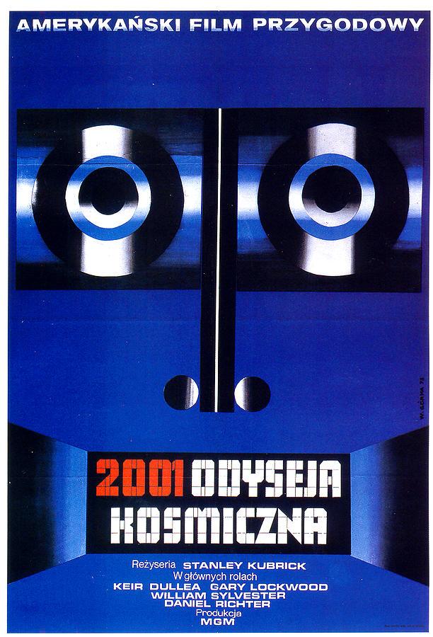 2001 - A Space Odyssey Polish Poster Kubrick 1968 Mixed Media