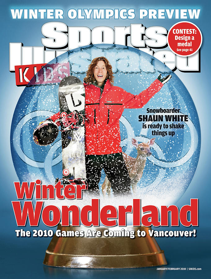 2010 Winter Olympics Preview Issue Cover Photograph by Sports Illustrated