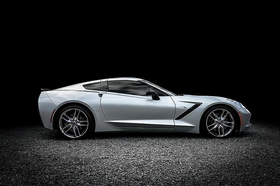 Corvette Digital Art - 2014 Corvette Stingray by Douglas Pittman