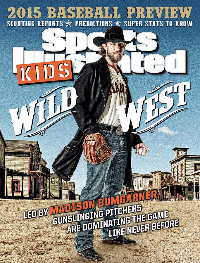 2015 Sports Illustrated for Kids MLB Season Preview Issue Cover Photograph by Sports Illustrated