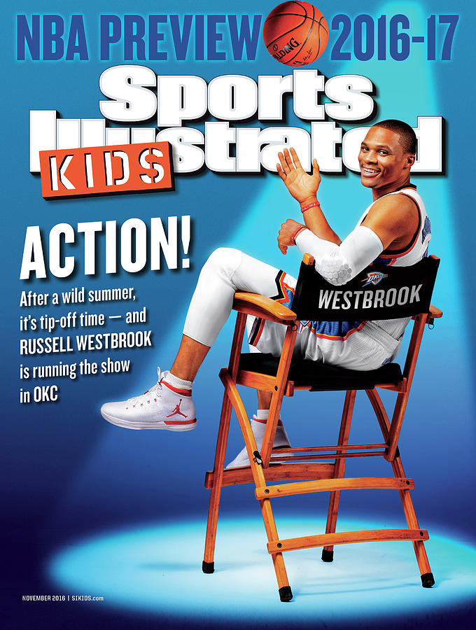 2016-17 Sports Illustrated for Kids NBA Preview Issue Cover Photograph by Sports Illustrated