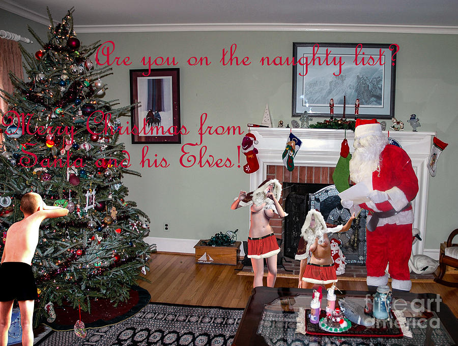 Christmas Photograph - 2019 Adult Christmas Card 2 by Broken Soldier