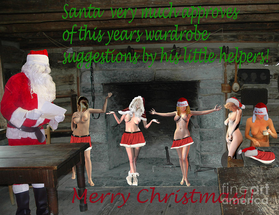 Christmas Photograph - 2019 Adult Christmas Card 3 by Broken Soldier