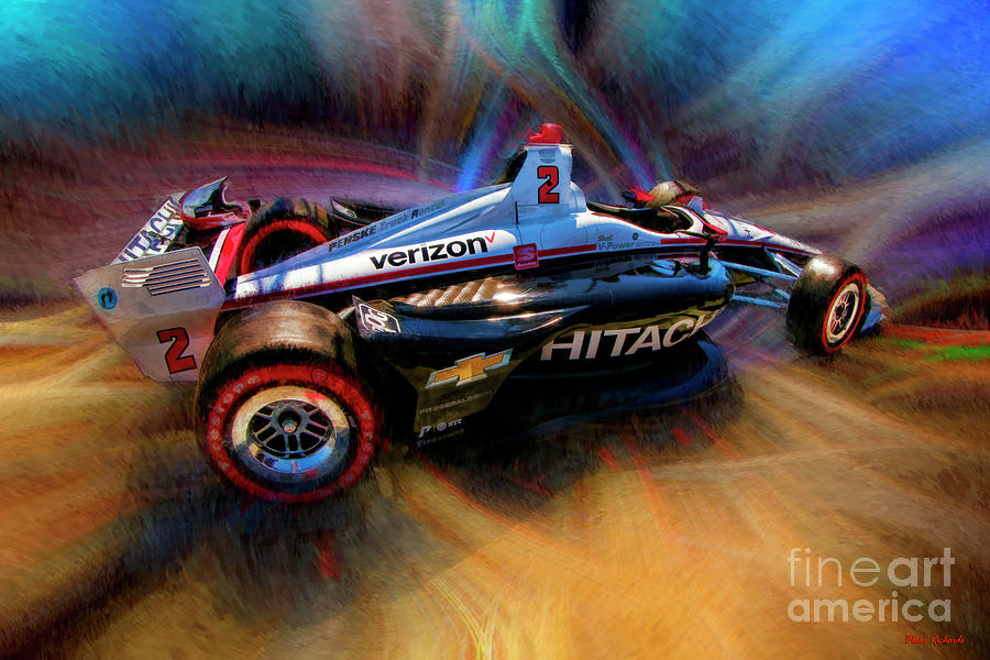 2019 INDYCAR TEAM PENSKE #2 JOSEF NEWGARDEN by Blake Richards