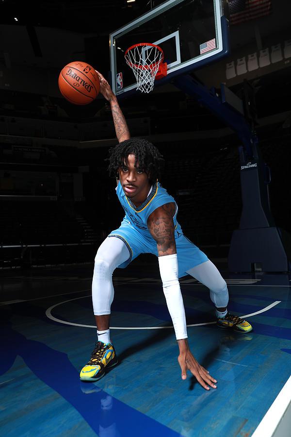 2020-2021 Memphis Grizzlies Content Day Photograph by Joe Murphy