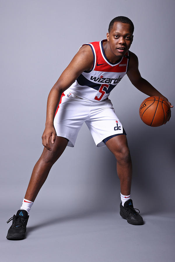 2020-21 Washington Wizards Content Day Photograph by Ned Dishman