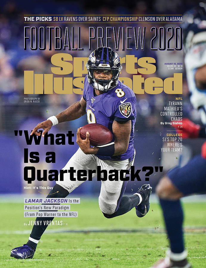 2020 Football Preview Sports Illustrated Cover Photograph by Sports Illustrated