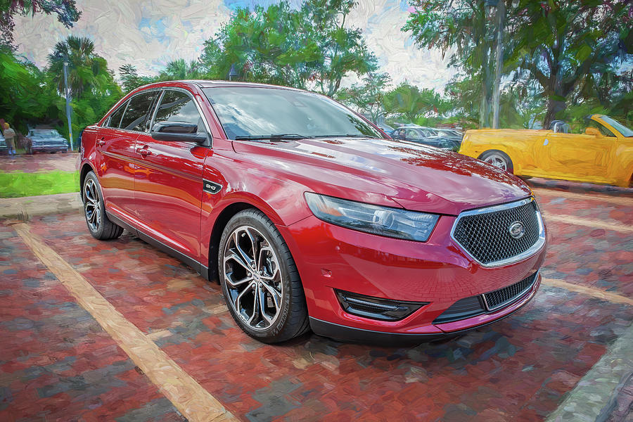 2020 Ford Taurus SHO X107 Photograph by Rich Franco