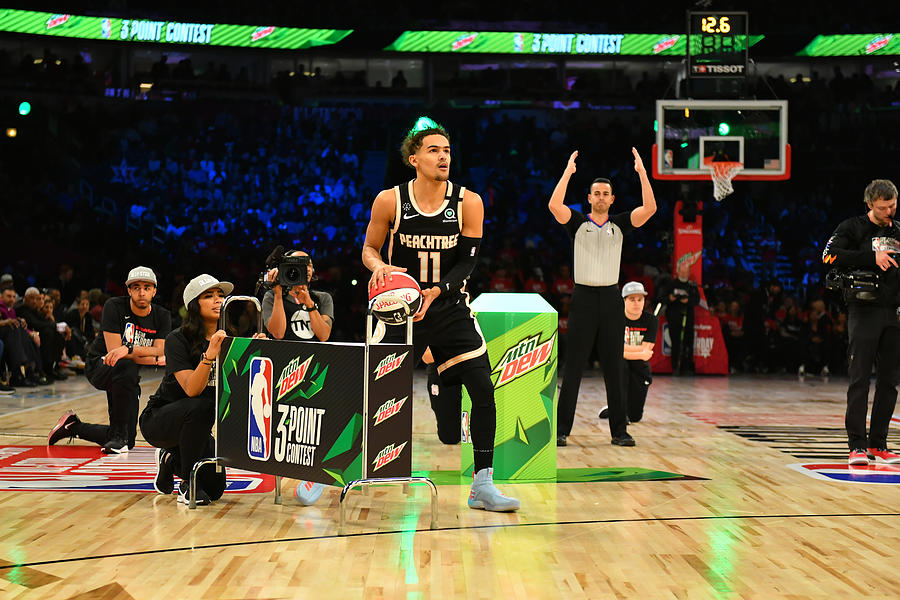 2020 NBA All-Star - MTN DEW 3-Point Contest Photograph by Jesse D. Garrabrant