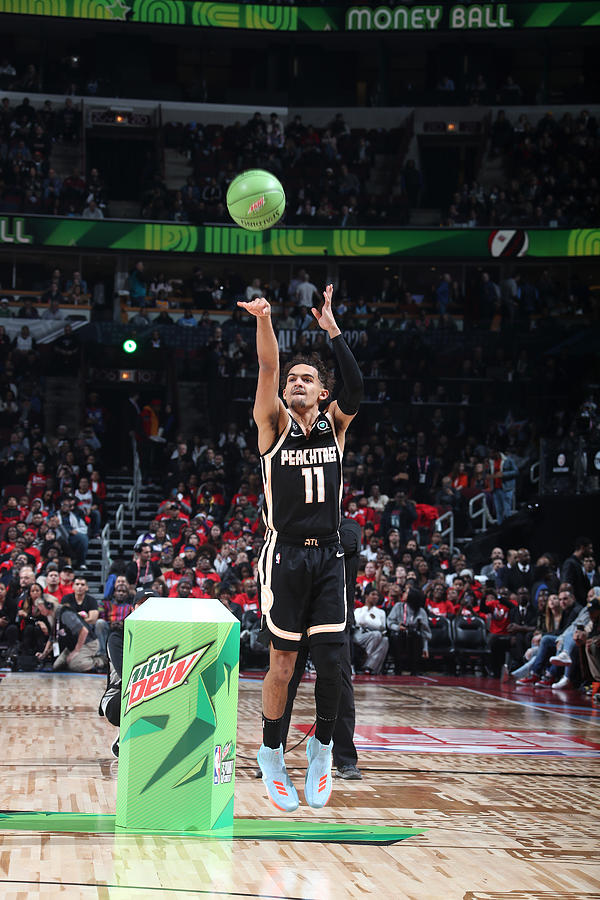 2020 NBA All-Star - MTN DEW 3-Point Contest Photograph by Nathaniel S. Butler