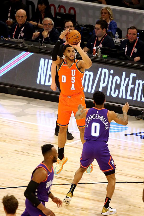 2020 NBA All-Star - Rising Stars Game Photograph by David Sherman