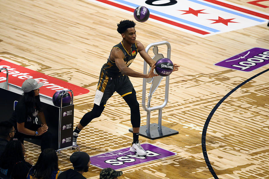 2020 NBA All-Star - Taco Bell Skills Challenge Photograph by David Sherman