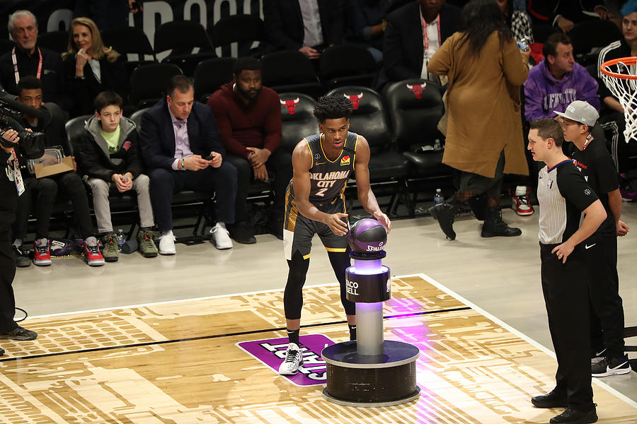 2020 NBA All-Star - Taco Bell Skills Challenge Photograph by Joe Murphy