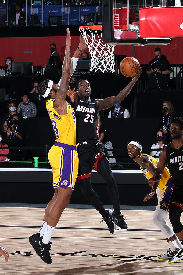 2020 NBA Finals - Los Angeles Lakers v Miami Heat Photograph by Nathaniel S. Butler