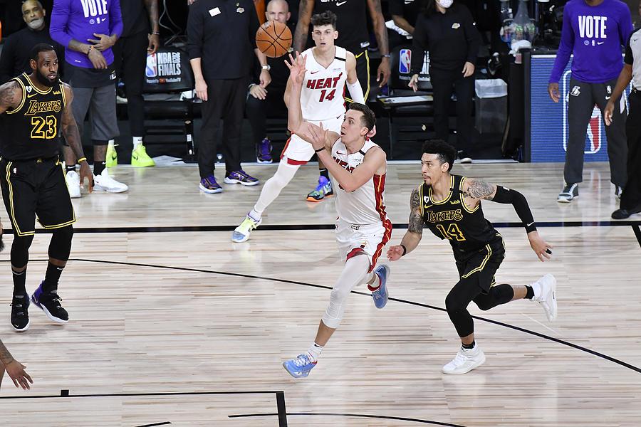 2020 NBA Finals - Miami Heat v Los Angeles Lakers Photograph by Fernando Medina