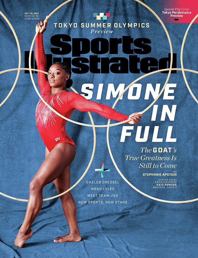 2020 Summer Olympics Preview Issue Cover Photograph by Sports Illustrated