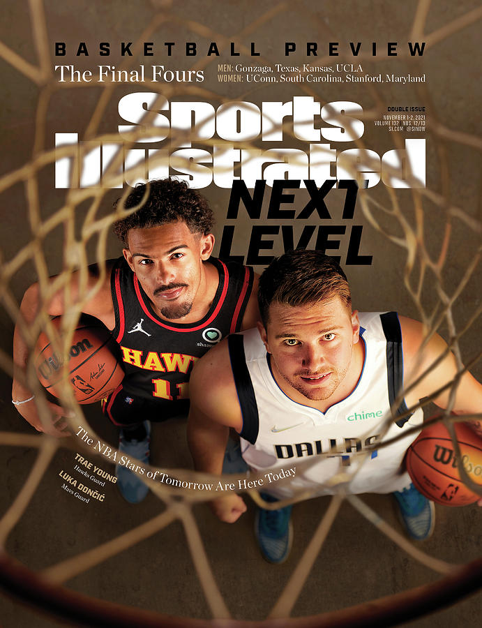 2021-22 Basketball Preview Issue Cover Photograph by Sports Illustrated