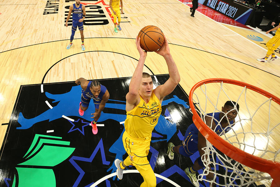 2021 70th NBA All-Star Game Photograph by Joe Murphy