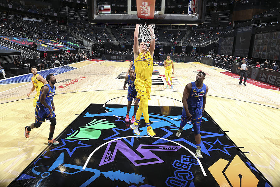 2021 70th NBA All-Star Game Photograph by Nathaniel S. Butler
