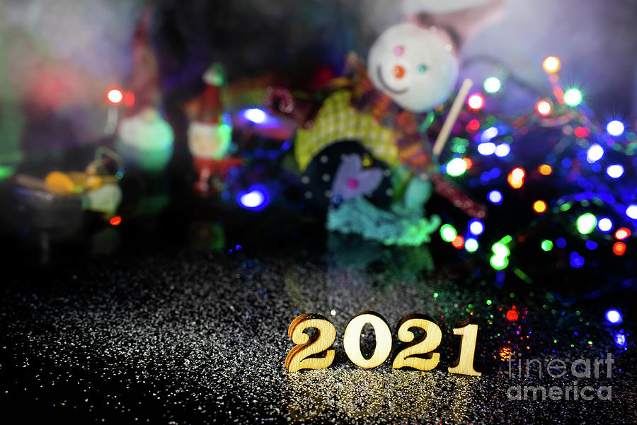 2021 happy new year wood number christmas decoration and snow wi photograph by joaquin corbalan 2021 happy new year wood number christmas decoration and snow wi by joaquin corbalan