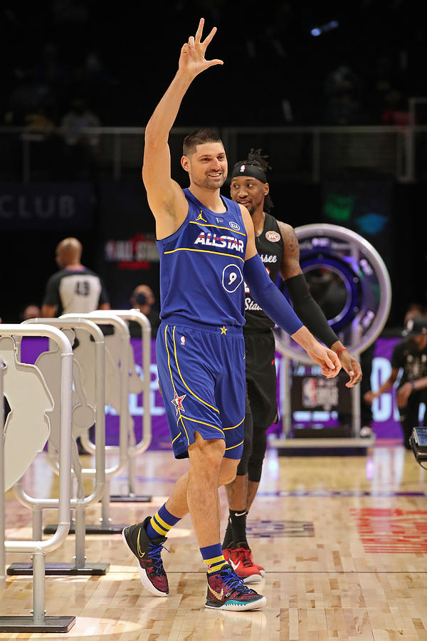 2021 NBA All-Star - Taco Bell Skills Challenge Photograph by Joe Murphy