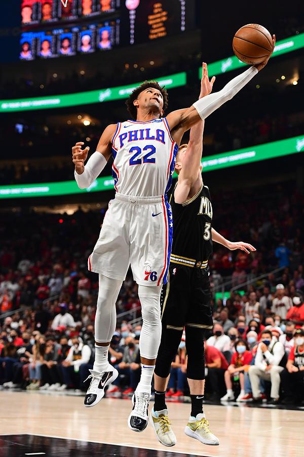 2021 NBA Playoffs - Philadelphia 76ers v Atlanta Hawks Photograph by Scott Cunningham