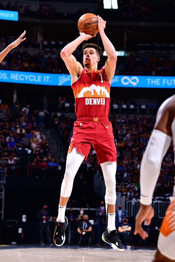 2021 NBA Playoffs - Phoenix Suns v Denver Nuggets Photograph by Barry Gossage