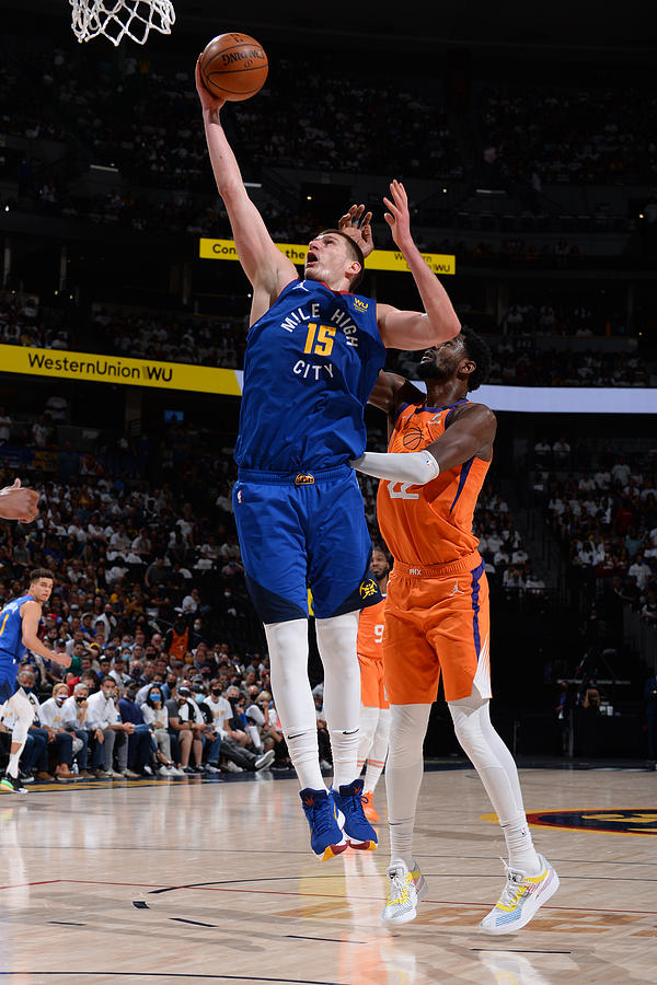 2021 NBA Playoffs - Phoenix Suns v Denver Nuggets Photograph by Bart Young