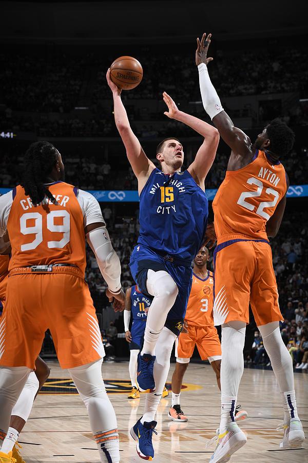 2021 NBA Playoffs - Phoenix Suns v Denver Nuggets Photograph by Garrett Ellwood