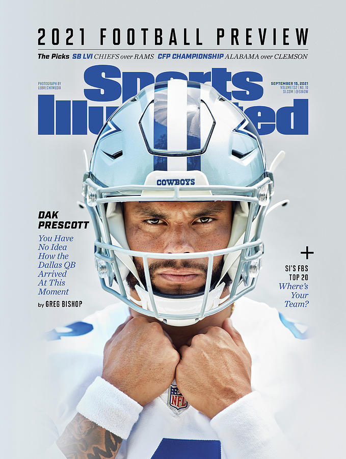 2021 NFL Preview Issue Cover Photograph by Sports Illustrated