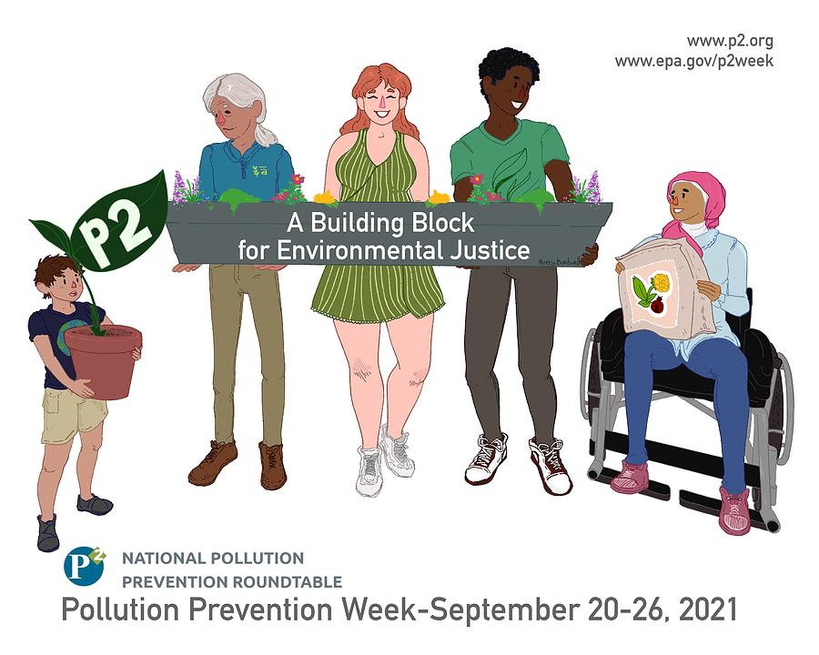 Pollution Mixed Media - 2021 P2 Week Poster by Pollution Prevention Roundtable