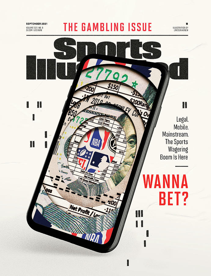 2021 Sports Illustrated Gambling Issue Cover Photograph by Sports Illustrated