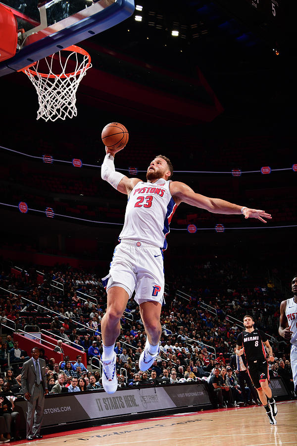 Blake Griffin Photograph by Chris Schwegler