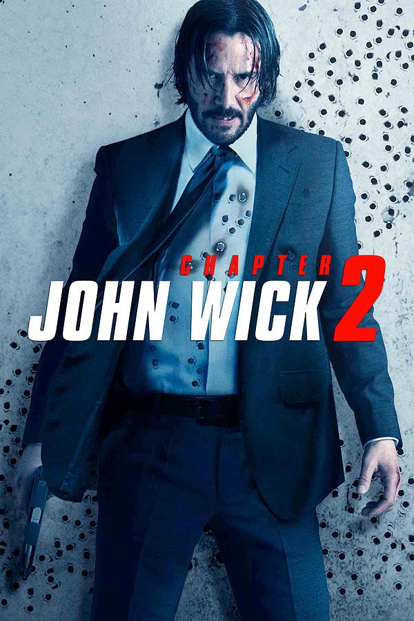 John Wick Chapter 2 2017 Digital Art By Geek N Rock