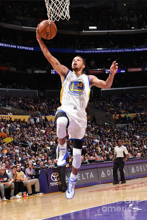 Stephen Curry Photograph by Andrew D. Bernstein