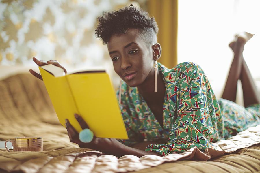 Young woman at home Photograph by Eva-Katalin