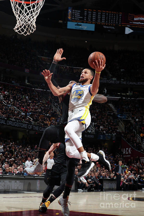 Stephen Curry Photograph by Nathaniel S. Butler