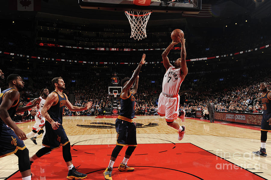 Kyle Lowry Photograph by Ron Turenne