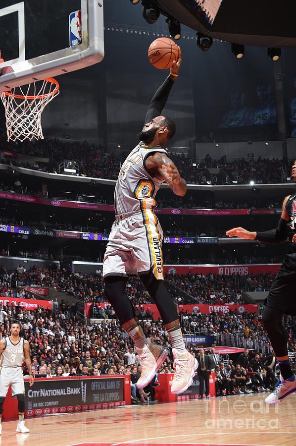 Lebron James Photograph by Andrew D. Bernstein