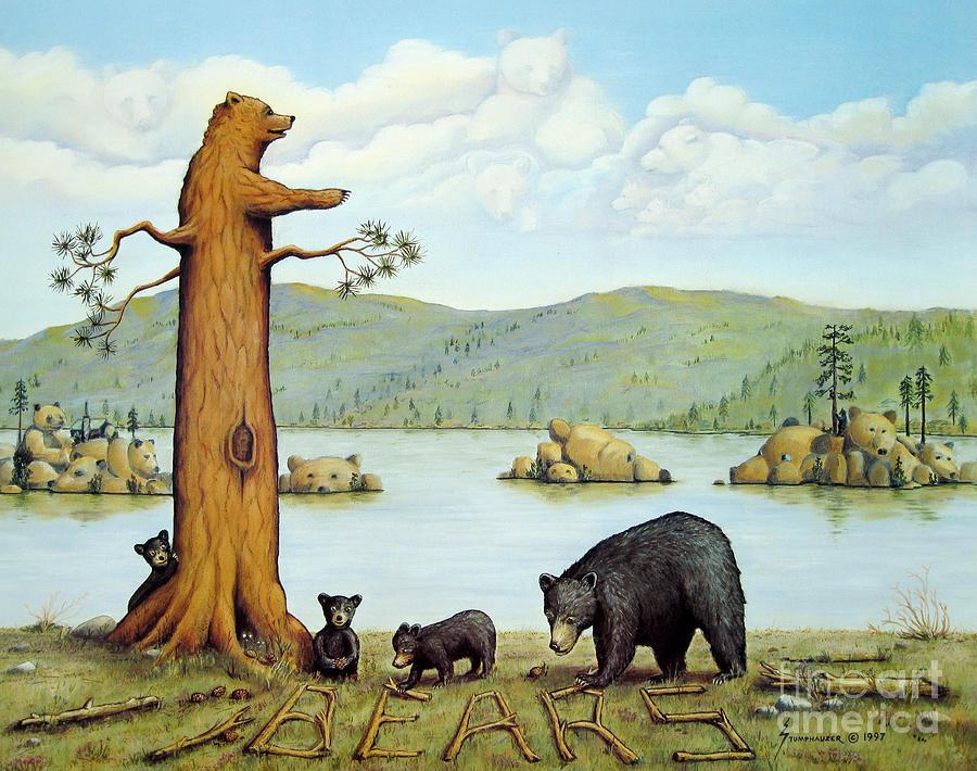 27 BEARS by Jerome Stumphauzer