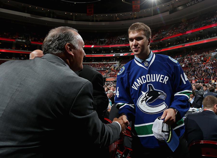 2014 NHL Draft - Rounds 2-7 Photograph by Bruce Bennett