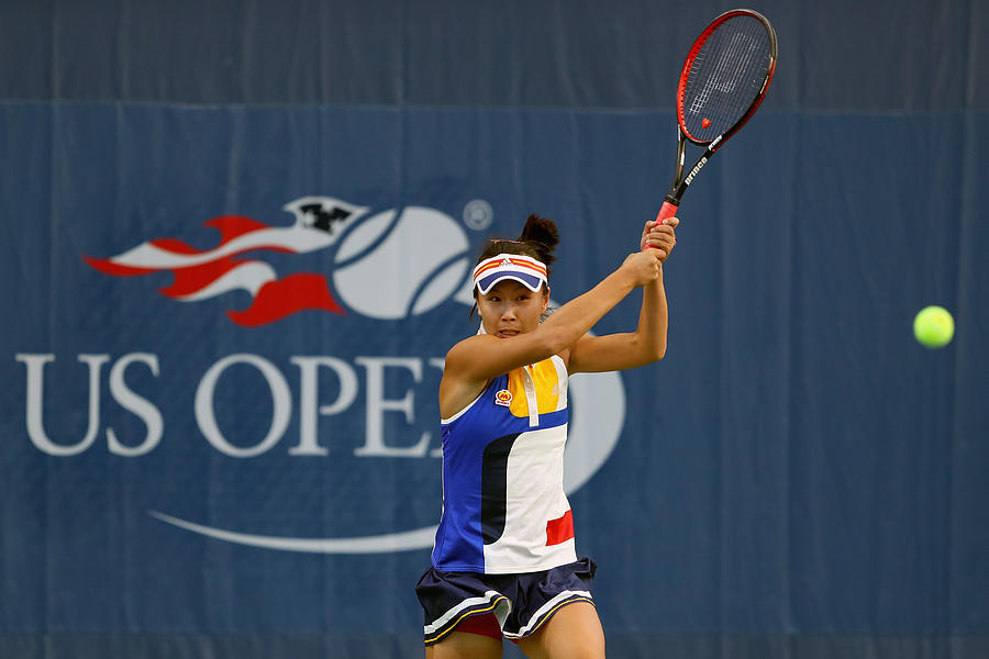 2017 US Open Tennis Championships - Day 1 Photograph by Richard Heathcote